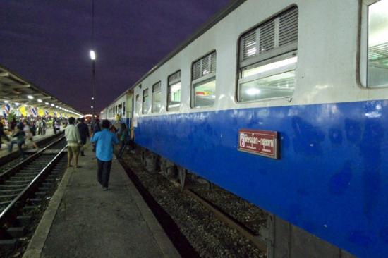 タイ・ローカル列車